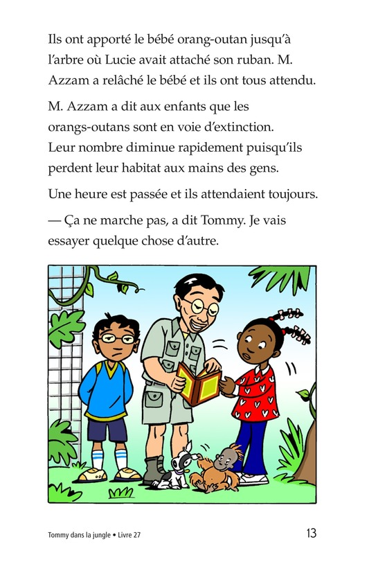 Book Preview For Tommy in the Jungle Page 13