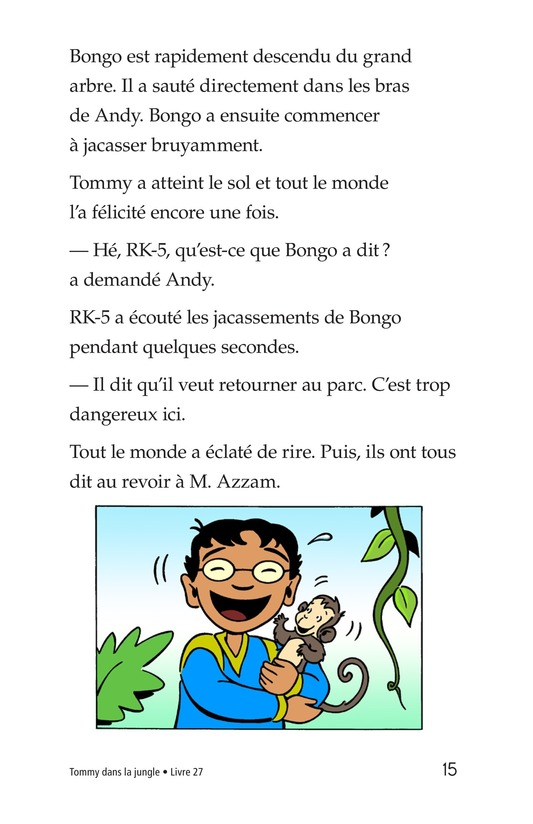 Book Preview For Tommy in the Jungle Page 15