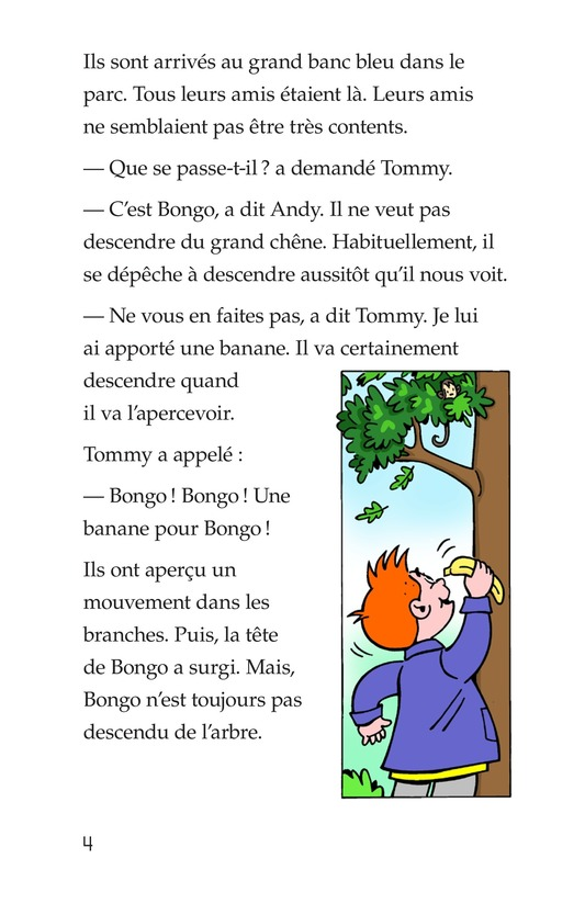 Book Preview For Tommy in the Jungle Page 4