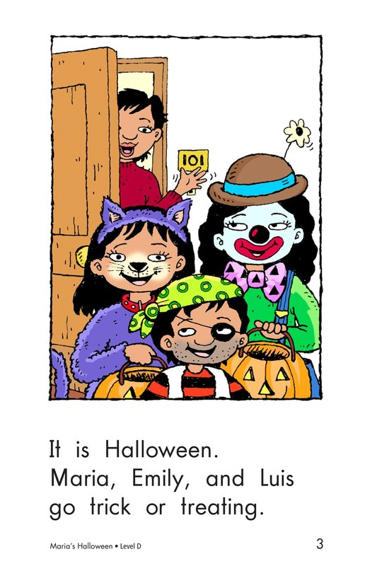 Book Preview For Maria's Halloween Page 3
