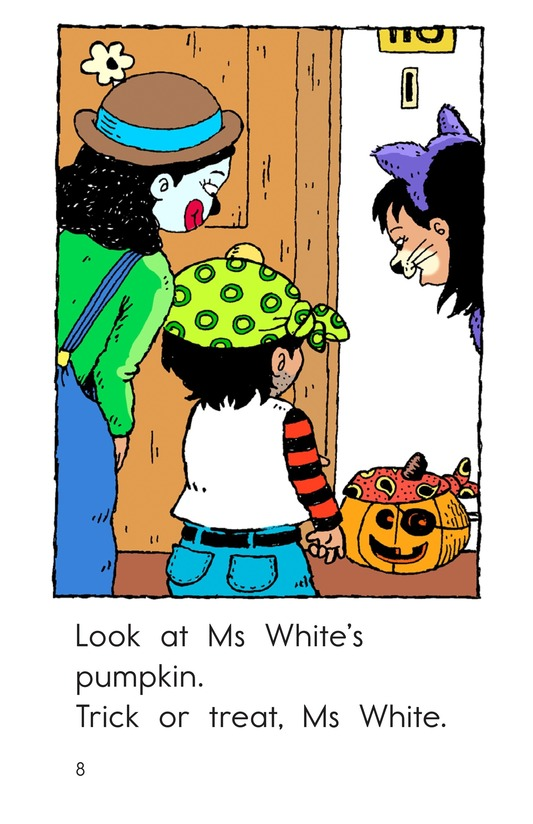 Book Preview For Maria's Halloween Page 8