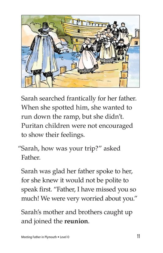 Book Preview For Meeting Father in Plymouth Page 11