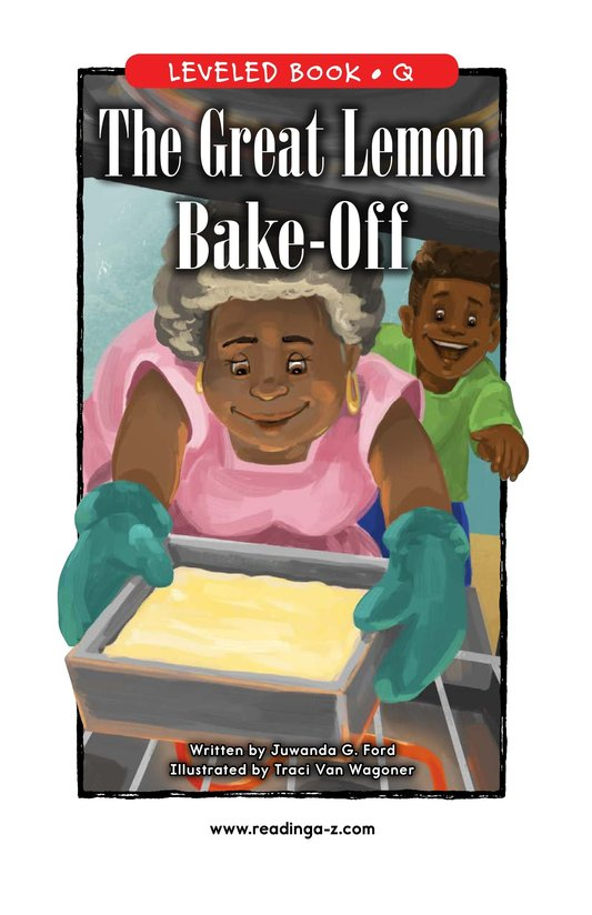 Book Preview For The Great Lemon Bake-Off Page 0