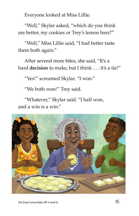 Book Preview For The Great Lemon Bake-Off Page 15