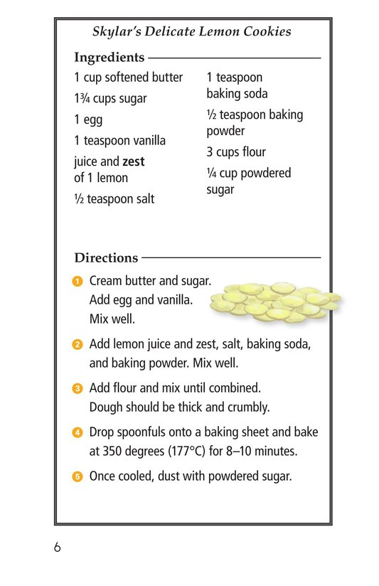 Book Preview For The Great Lemon Bake-Off Page 6