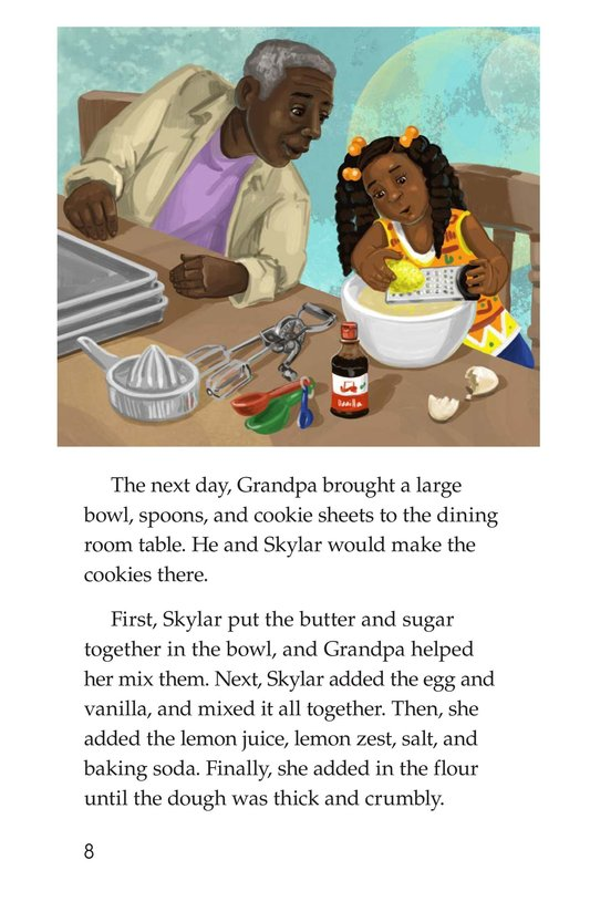 Book Preview For The Great Lemon Bake-Off Page 8