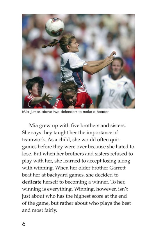 Book Preview For Female Sports Stars Page 6