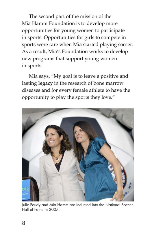 Book Preview For Female Sports Stars Page 8