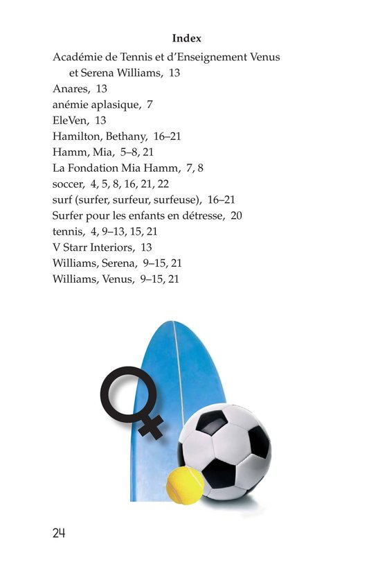 Book Preview For Female Sports Stars Page 24