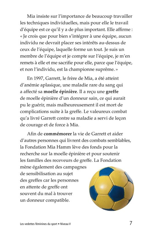 Book Preview For Female Sports Stars Page 7