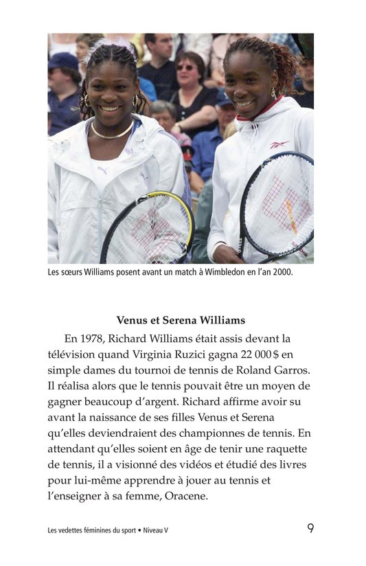 Book Preview For Female Sports Stars Page 9