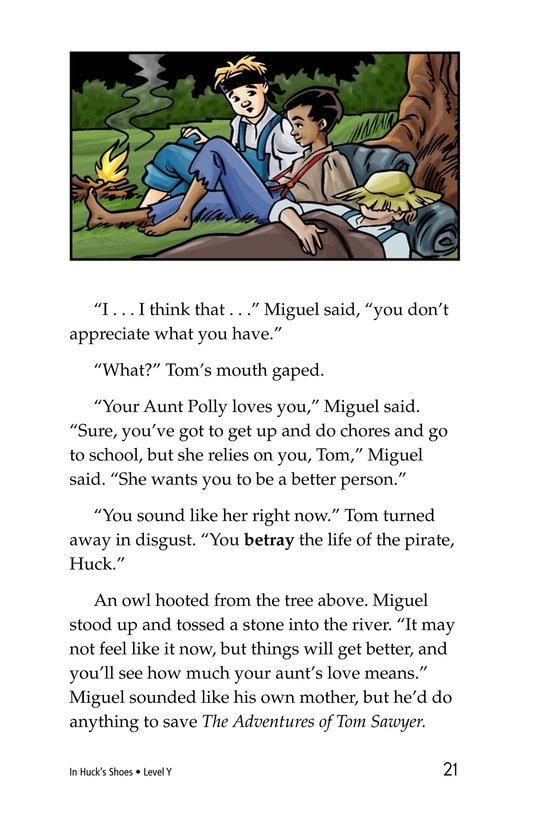 Book Preview For In Huck's Shoes Page 21