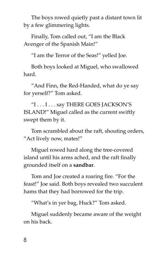 Book Preview For In Huck's Shoes Page 8