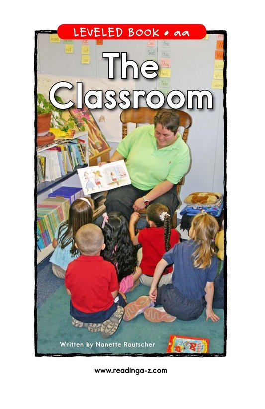 Book Preview For The Classroom Page 1