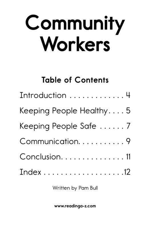 Book Preview For Community Workers Page 2