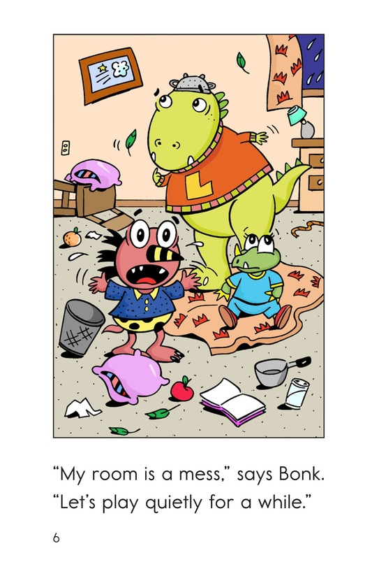 Book Preview For Monsters' Stormy Day Page 6