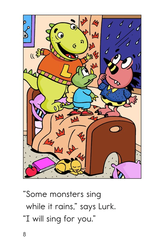 Book Preview For Monsters' Stormy Day Page 8