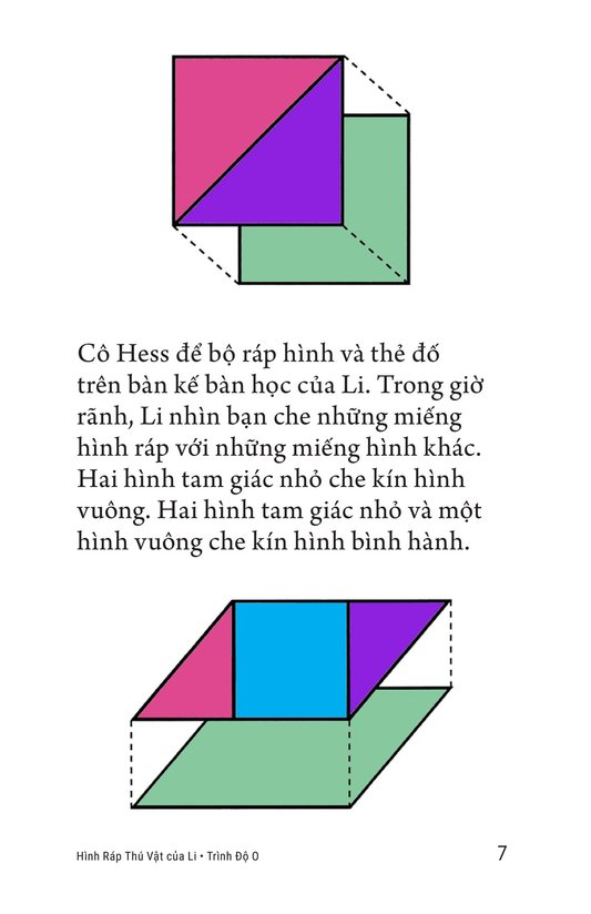 Book Preview For Li's Tangram Animals Page 7
