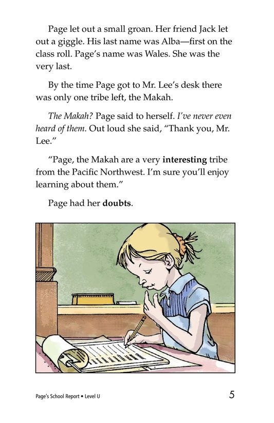 Book Preview For Page's School Report Page 5