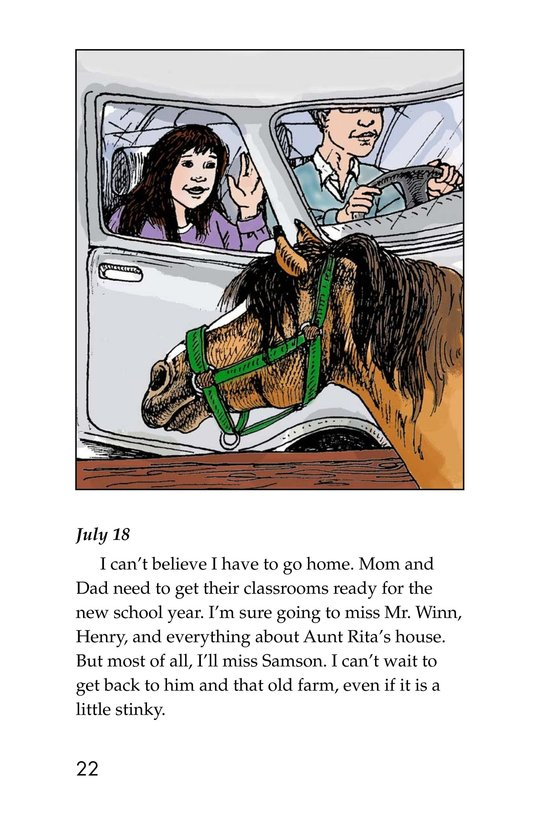 Book Preview For Samson: A Horse Story Page 22