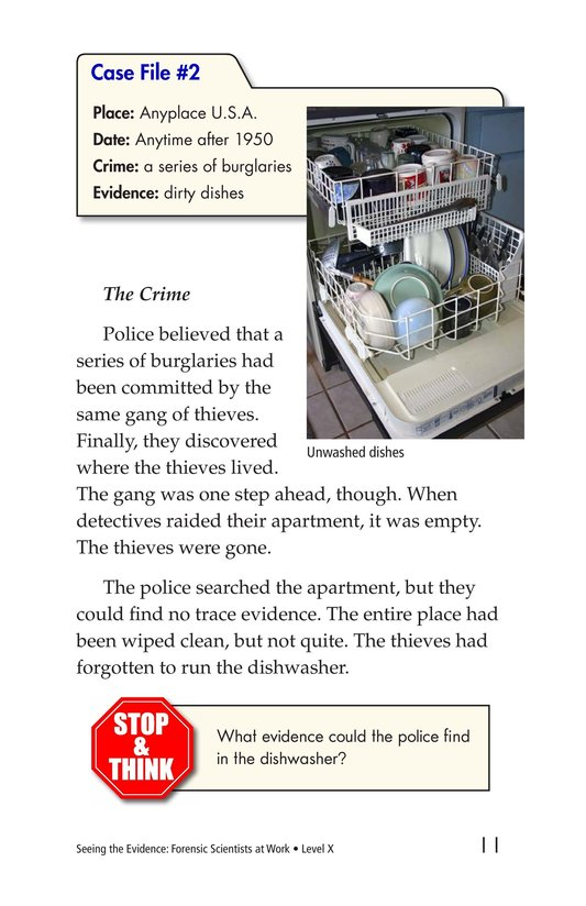 Book Preview For Seeing the Evidence: Forensic Scientists at Work Page 11