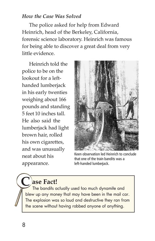 Book Preview For Seeing the Evidence: Forensic Scientists at Work Page 8