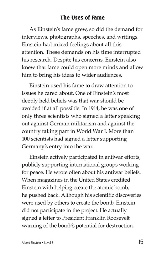 Book Preview For Albert Einstein Page 15
