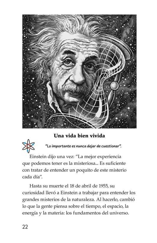 Book Preview For Albert Einstein Page 22