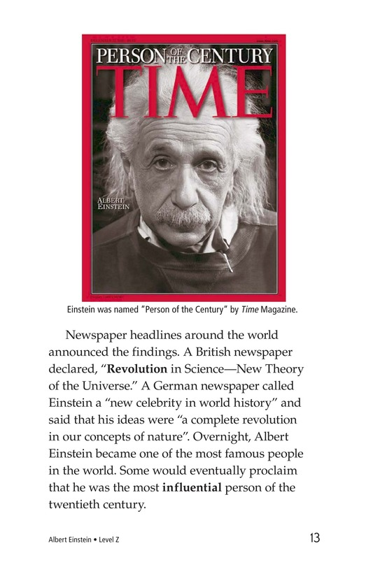 Book Preview For Albert Einstein Page 13