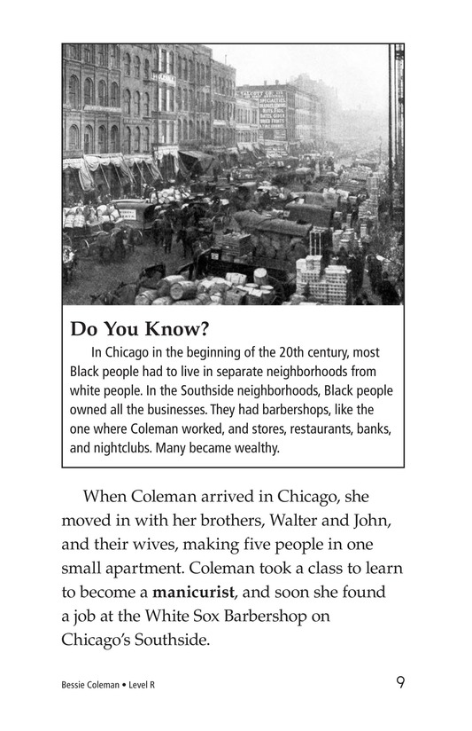 Book Preview For Bessie Coleman Page 9