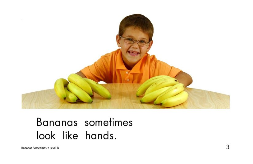 Book Preview For Bananas Sometimes Page 3