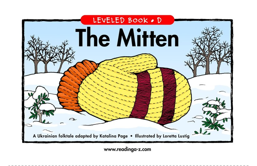 Book Preview For The Mitten Page 1