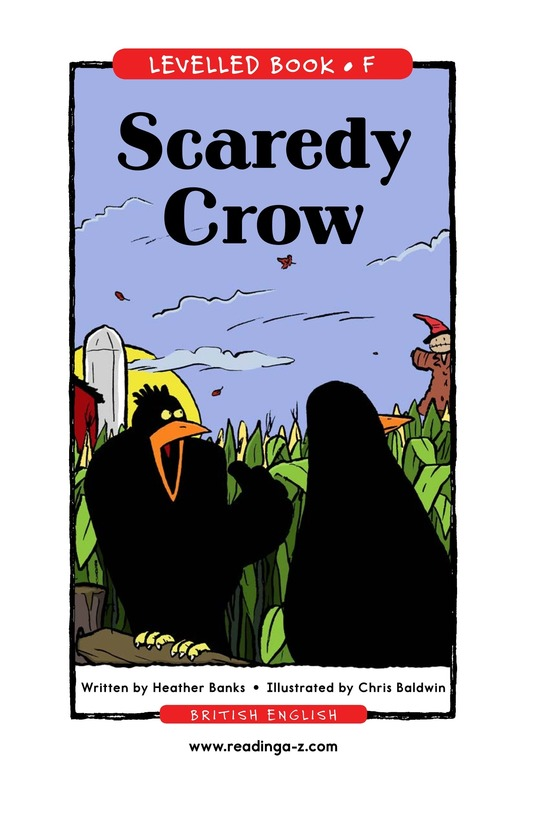 Book Preview For Scaredy Crow Page 1