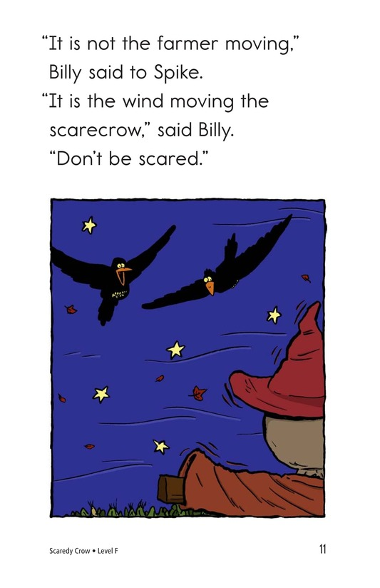 Book Preview For Scaredy Crow Page 11
