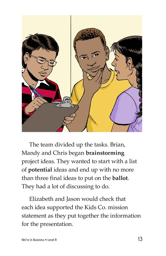 Book Preview For We're in Business Page 13