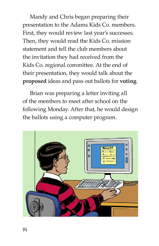 Book Preview For We're in Business Page 14