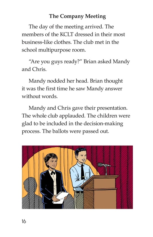 Book Preview For We're in Business Page 16