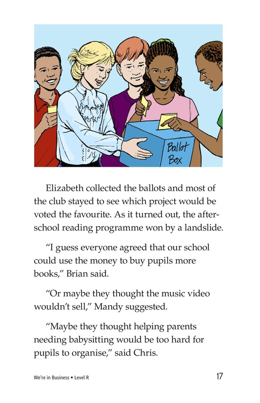 Book Preview For We're in Business Page 17