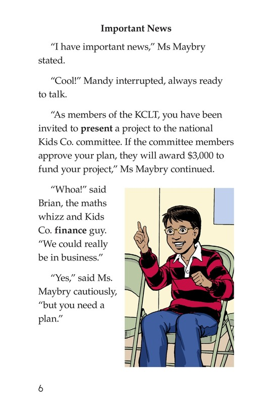 Book Preview For We're in Business Page 6