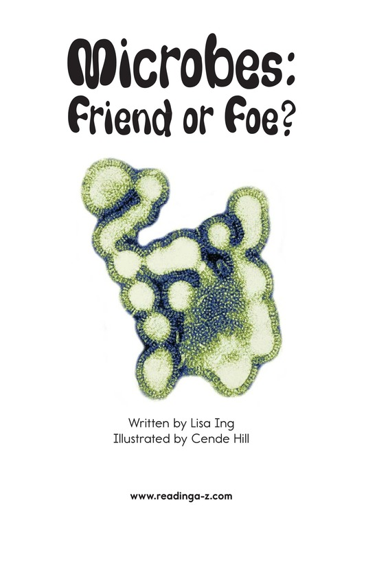 Book Preview For Microbes: Friend or Foe? Page 2