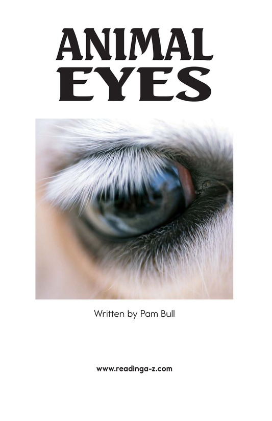Book Preview For Animal Eyes Page 2