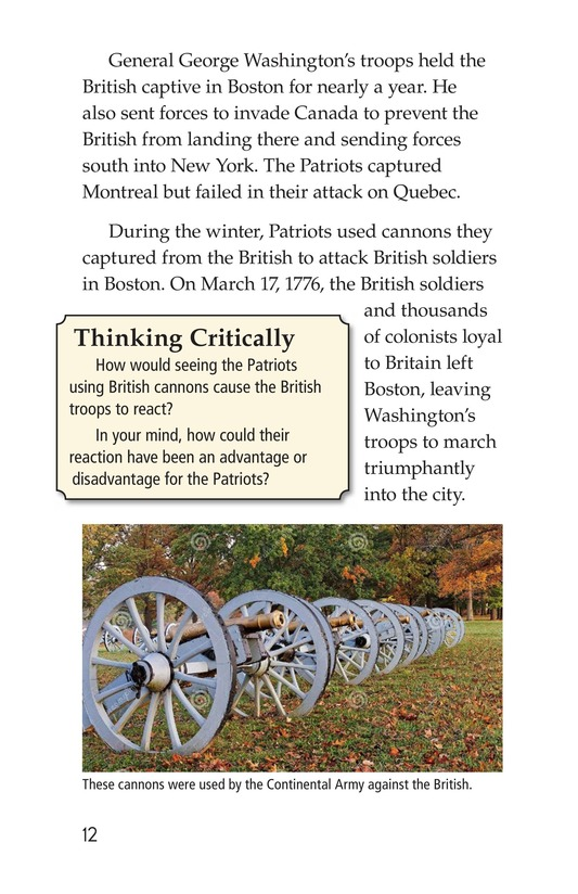 Book Preview For Battling for Independence Page 12