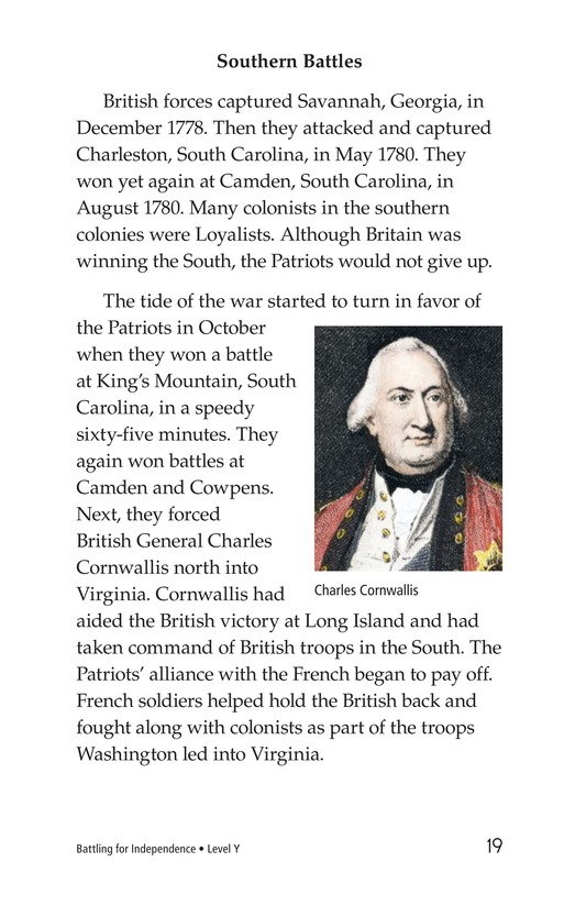 Book Preview For Battling for Independence Page 19