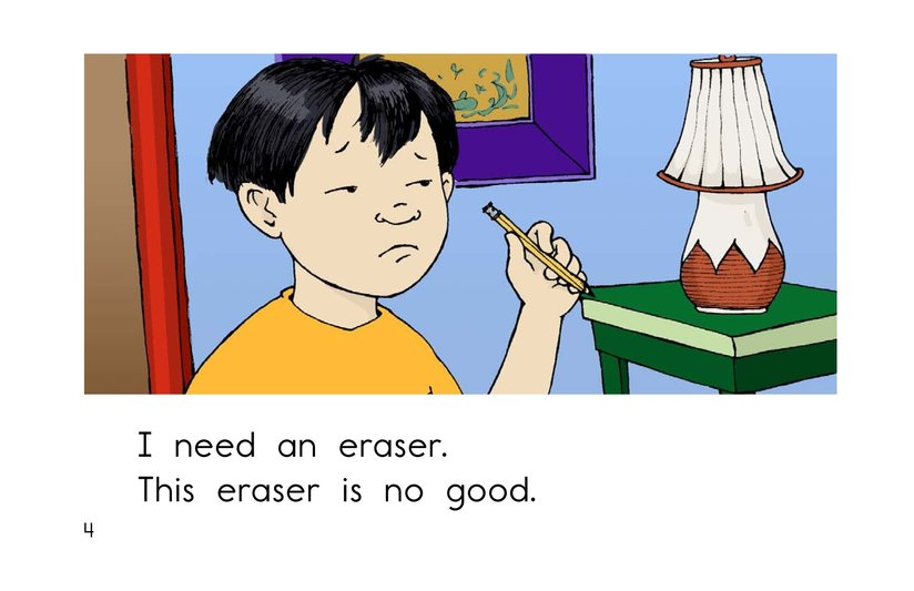Book Preview For I Need An Eraser Page 4