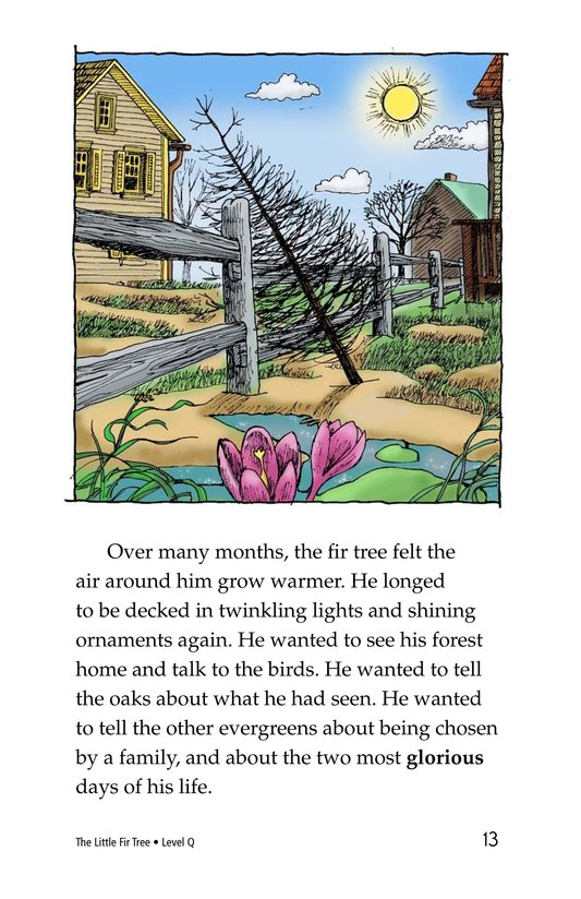 Book Preview For The Little Fir Tree Page 13