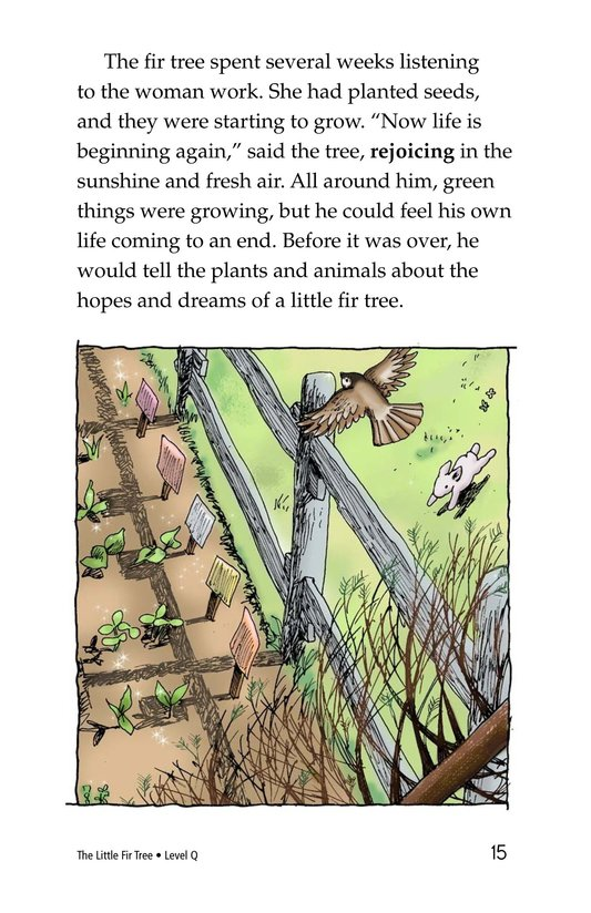 Book Preview For The Little Fir Tree Page 15
