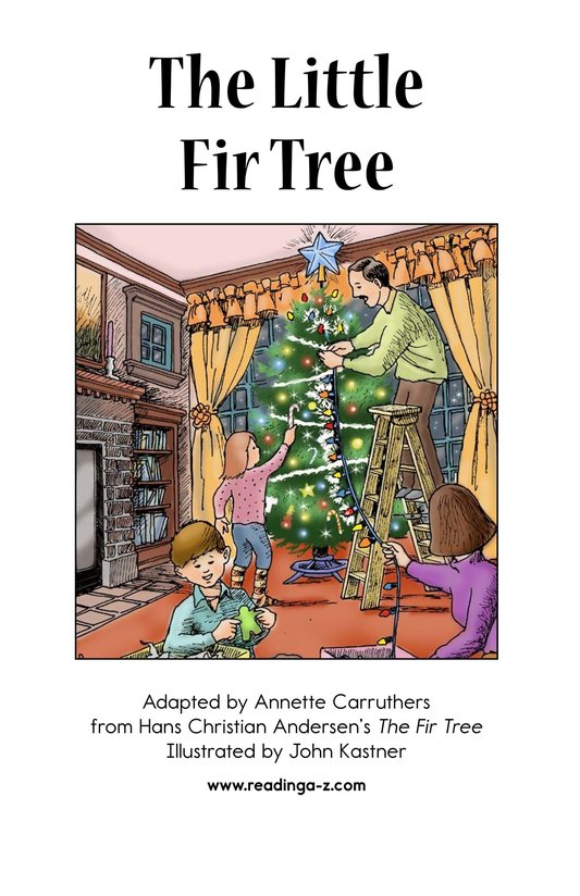 Book Preview For The Little Fir Tree Page 2