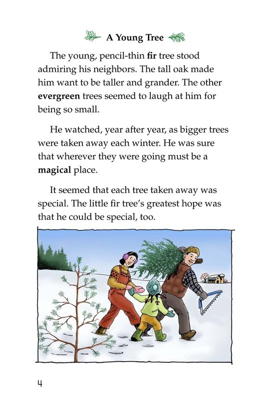 Book Preview For The Little Fir Tree Page 4