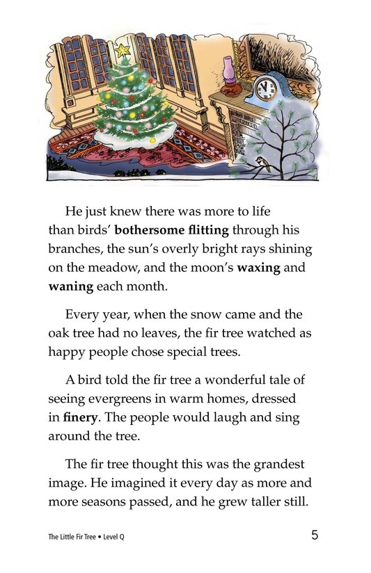 Book Preview For The Little Fir Tree Page 5