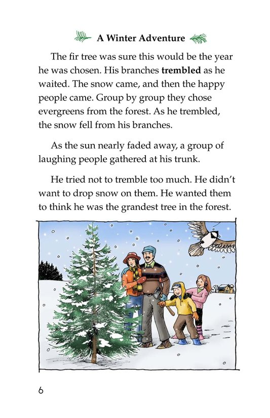 Book Preview For The Little Fir Tree Page 6